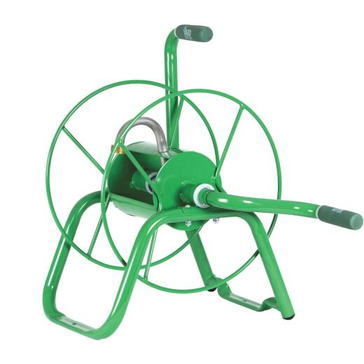 Yard Butler Handy Reel 75 Ft. x 5/8 In. Green Steel Hose Reel