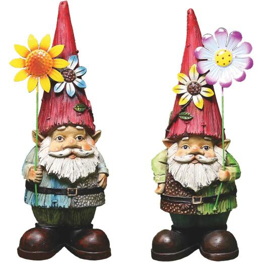 Alpine 17 In. Gnome Lawn Ornament