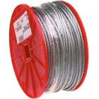 Campbell 1/4 In. x 250 Ft. Galvanized Wire Cable Image 1
