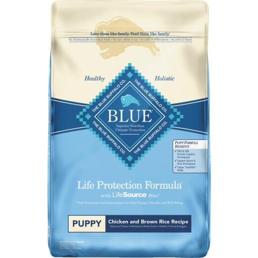Blue Buffalo Life Protection Formula 15 Lb. Chicken & Brown Rice Dry Puppy Food