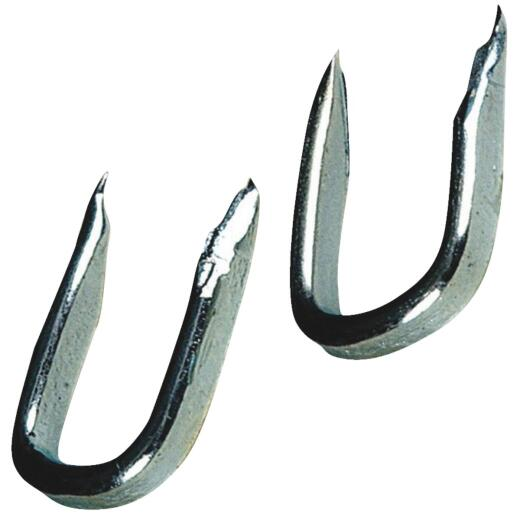 Hillman Anchor Wire 3/8 In. 5 ga Galvanized Steel Fence Staple (6 Ct., 1.5 Oz.)