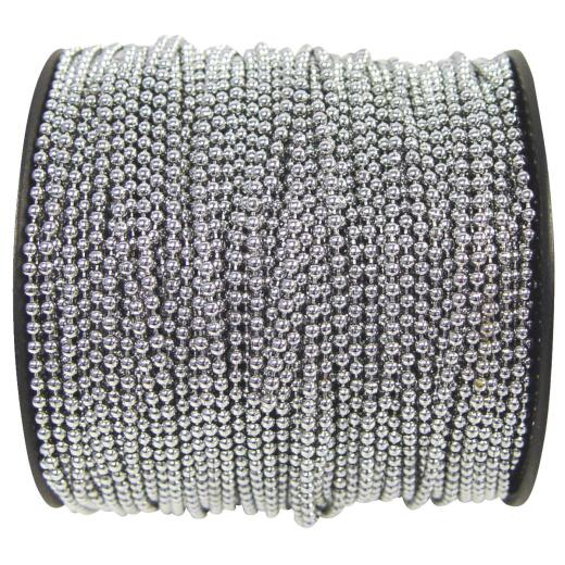 Campbell #36 164 Ft. Chrome Finished Stainless Steel Ball Chain