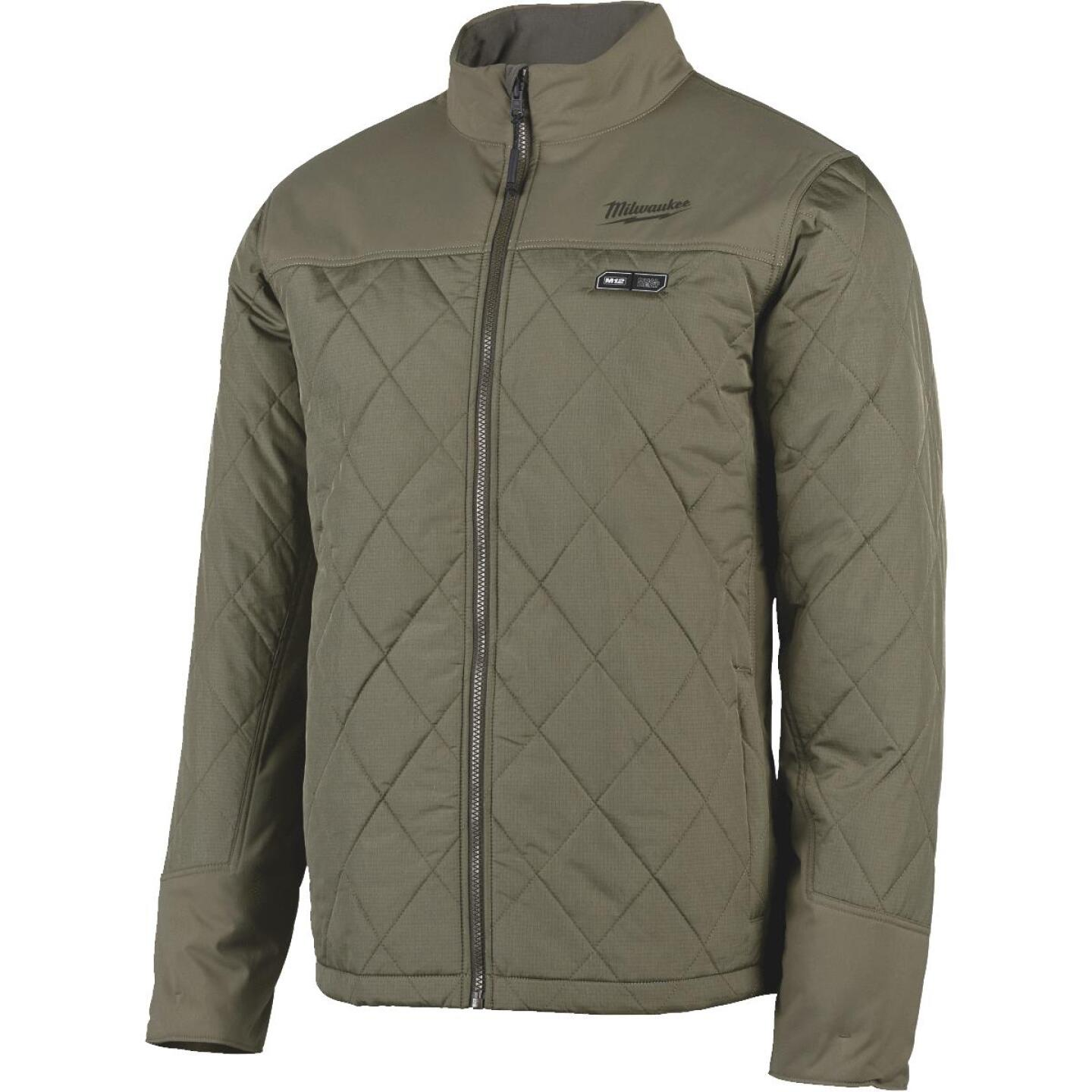 Milwaukee M12 2XL Olive Green Cordless Heated Axis Jacket Image 4