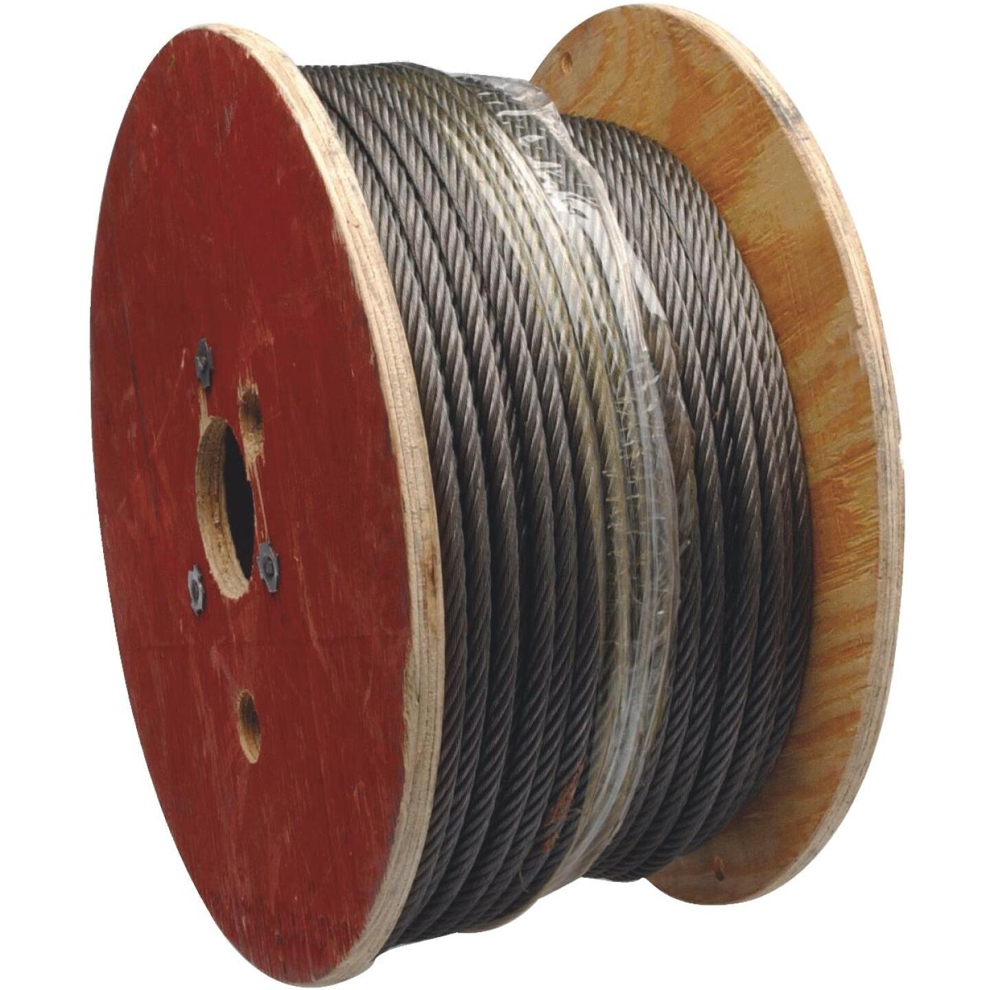 Campbell 1/8 In. x 100 Ft. Vinyl-Coated Galvanized Cable Image 1
