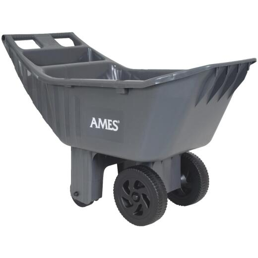 Ames Easy Roller 4 Cu. Ft. 250 Lb. Poly Garden Cart
