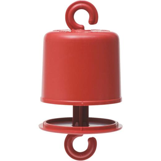 Perky-Pet Red Plastic Hummingbird Feeder Ant Guard
