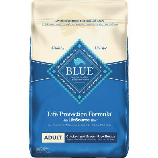 Blue Buffalo Life Protection Formula 30 Lb. Chicken & Brown Rice Dry Adult Dog Food