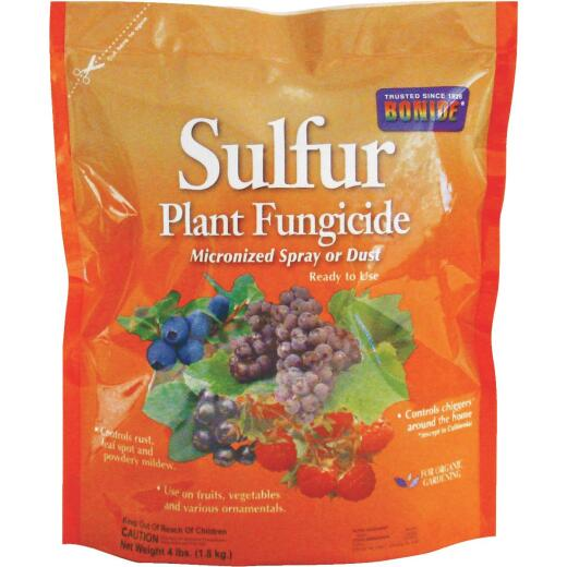 Bonide 4 Lb. Concentrate Wettable Dusting Sulfur Fungicide