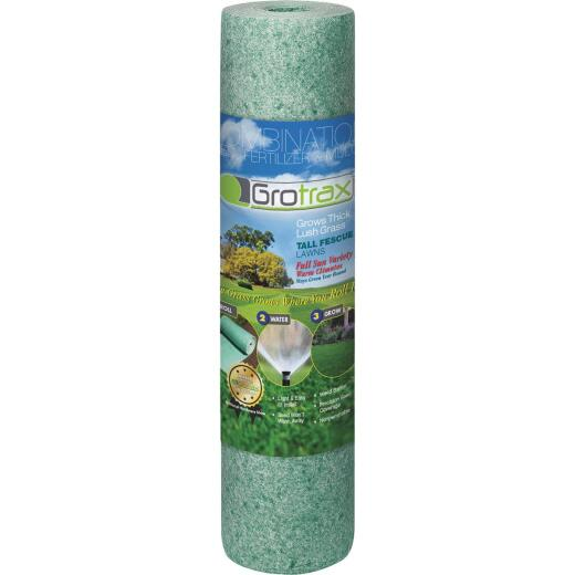 Gro Trax Big Roll 100 Sq. Ft. Coverage Tall Fescue Grass Seed Roll