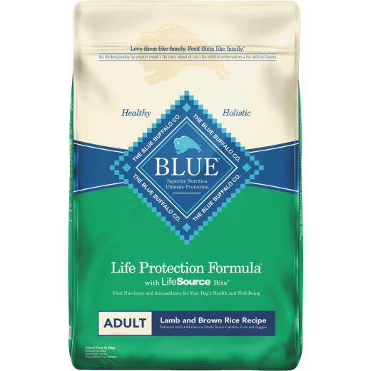 Blue Buffalo Life Protection Formula 30 Lb. Lamb & Brown Rice Dry Adult Dog Food