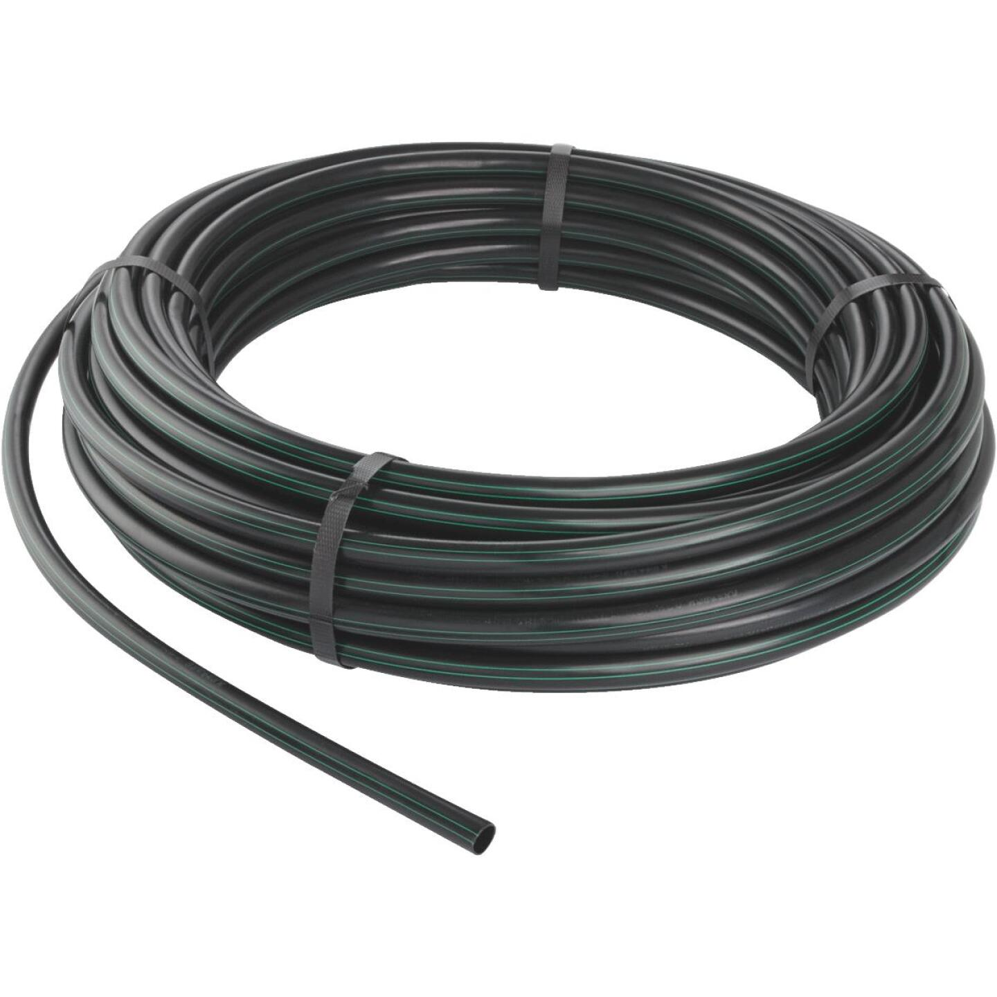 Rain Bird 1/2 In. X 100 Ft. Black Plastic Blank Drip Tubing Image 1
