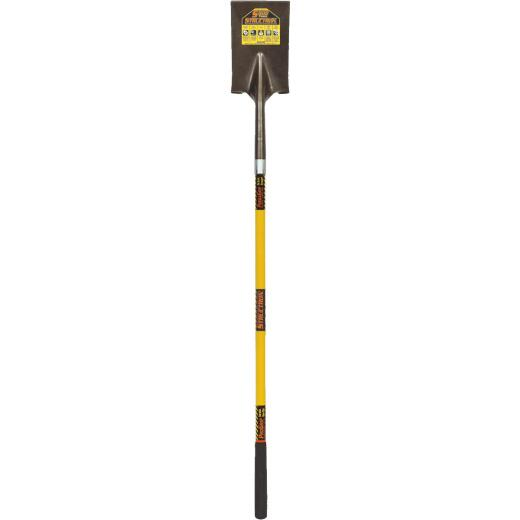 Structron S600 Power 48 In. Fiberglass Handle Square Point Garden Spade