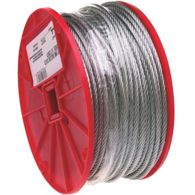 Campbell 1/16 In. x 500 Ft. Galvanized Wire Cable