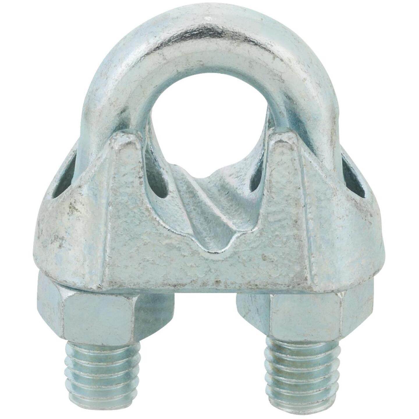Campbell 1/2 In. Galvanized Iron Cable Clip Image 1