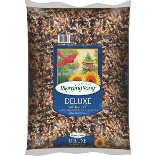Morning Song 20 Lb. Deluxe Wild Bird Seed