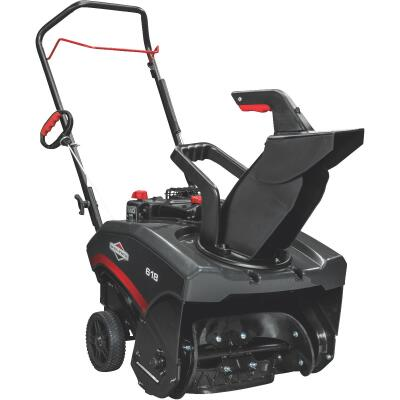 Briggs & Stratton 18 In. 127cc Single Stage 5.5 TP Manual Rotation Gas Snow Blower