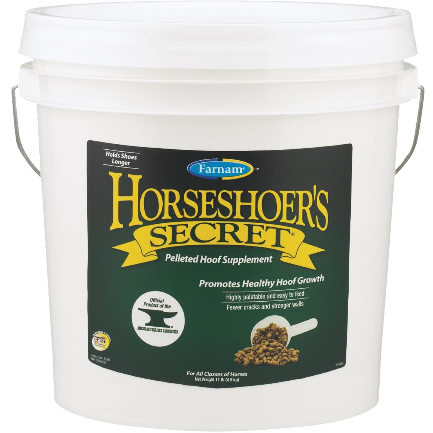 Farnam Horseshoer's Secret 11 Lb. Horse Feed Hoof Supplement Image 1