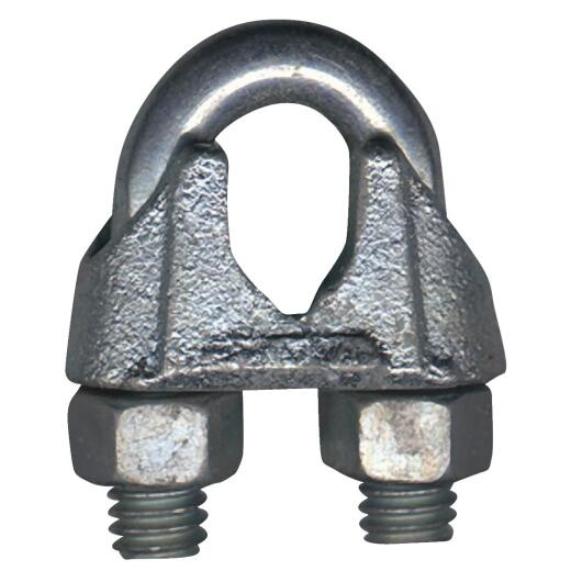 Campbell 1/8 In. Polished Stainless Steel Cable Clip
