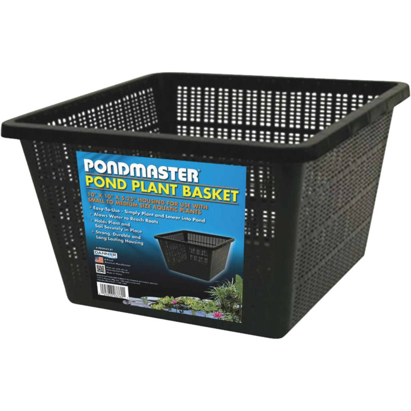 PondMaster 10 In. x 10 In. Black Pond Plantainer Image 1