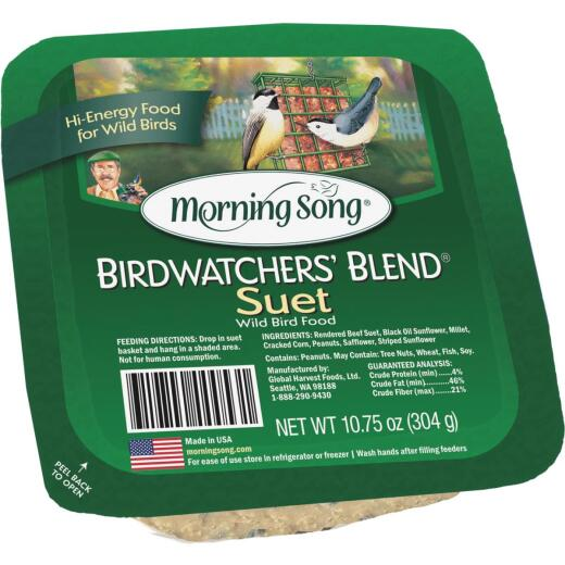 Morning Song 10.75 Oz. Birdwatcher's Blend Suet