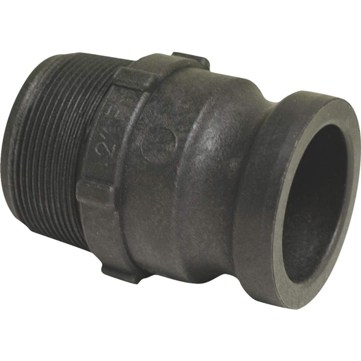 Apache 2 In. Part F Male Cam and Groove Polypropylene Adapter Image 2
