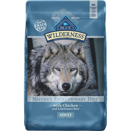 Blue Buffalo Wilderness Grain-Free 24 Lb. Chicken Dry Adult Dog Food