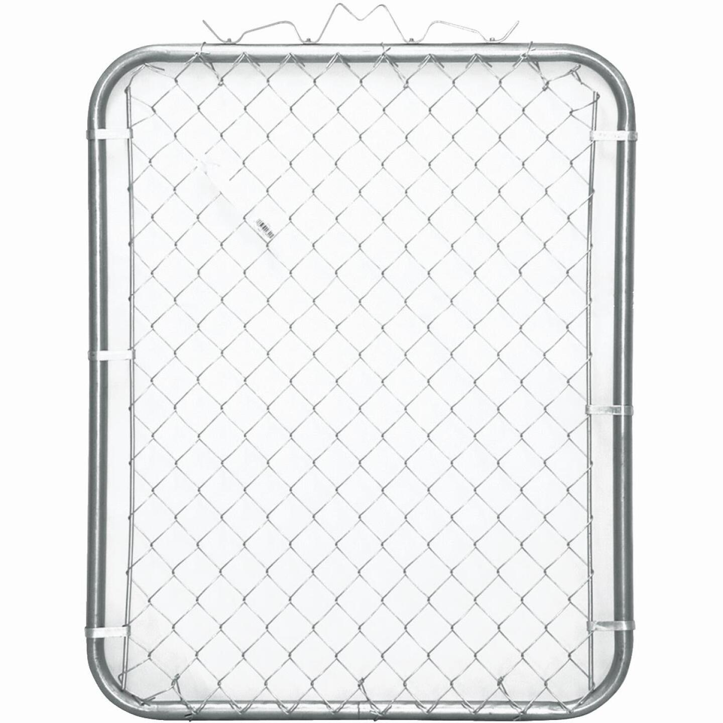 Midwest Air Tech Single Walk 35 In. W. x 46 In. H. Chain Link Gate Image 1