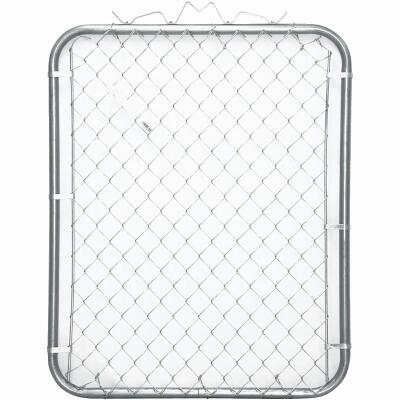 Midwest Air Tech Single Walk 35 In. W. x 70 In. H. Chain Link Gate
