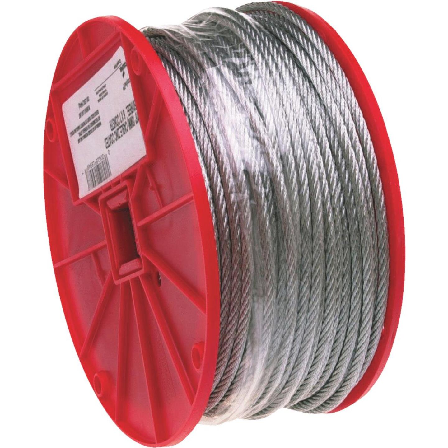 Campbell 3/16 In. x 250 Ft. Galvanized Wire Cable Image 1