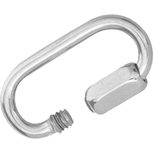 Campbell 3/8 In. Polished Cast Stainless Steel Quick Link