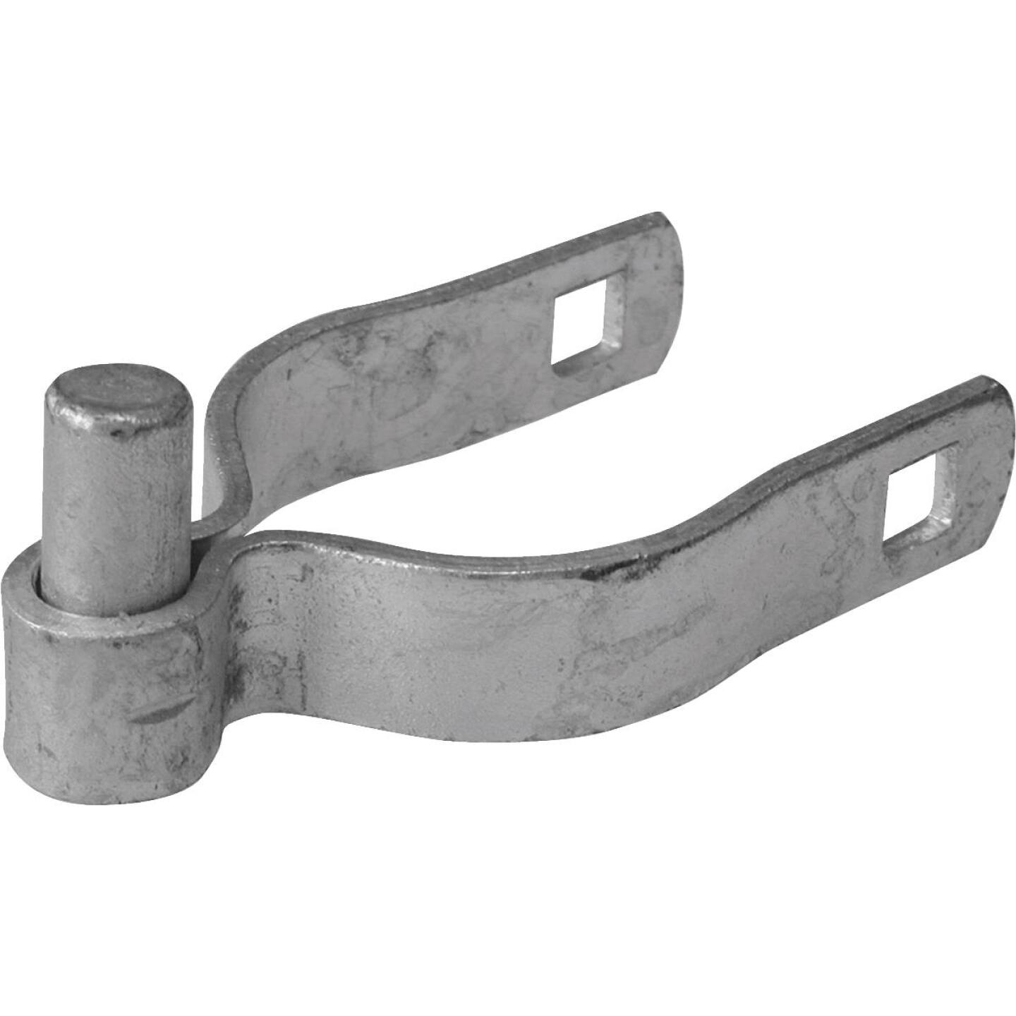 Midwest Air Tech 1-7/8 in. x 3/8 in. Steel Chain Link Gate Hinge Clamp Image 1