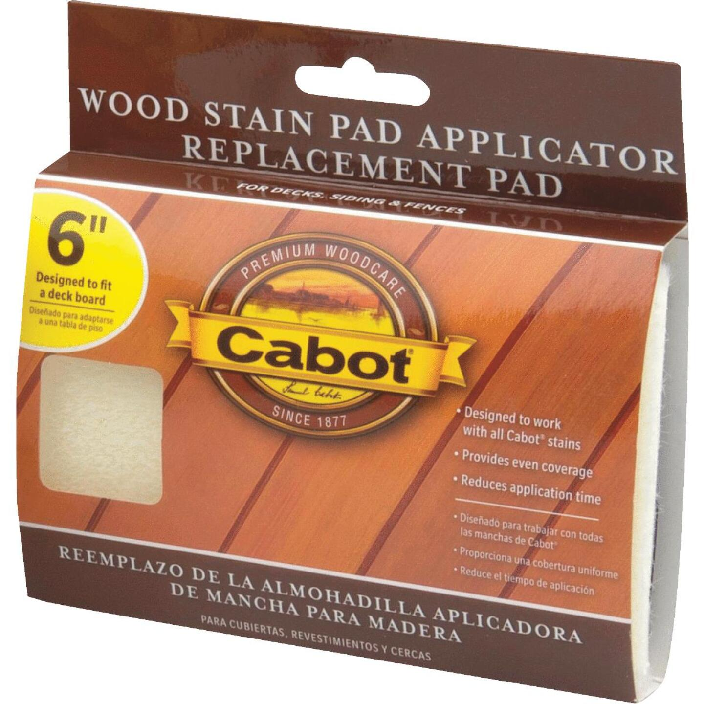 Cabot Synthetic Fabric 6 In. Stain Pad Applicator Image 1