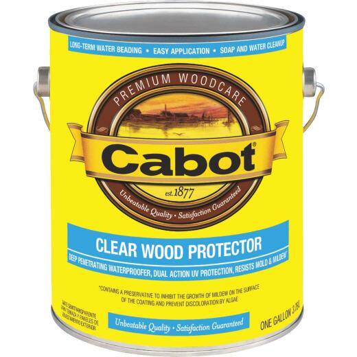 Cabot Clear Water-Based VOC Wood Protector, 1 Gal.