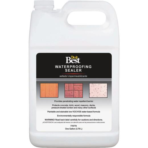 Do it Best Clear Water-Based Waterproofing Sealer, 1 Gal.