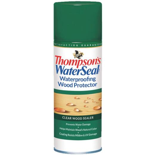 Thompsons WaterSeal Clear Waterproofing Wood Protector, 11 Oz.