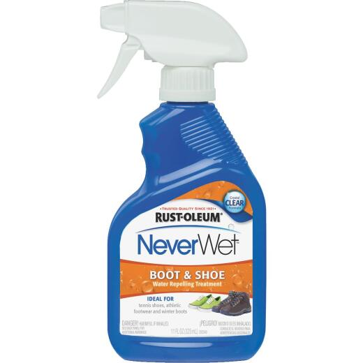 Rust-Oleum NeverWet Clear 11 Oz. Boot & Shoe Repellent