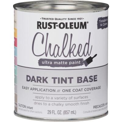 Rust-Oleum Chalked Dark Tint Ultra Matte 29 Oz. Chalk Paint