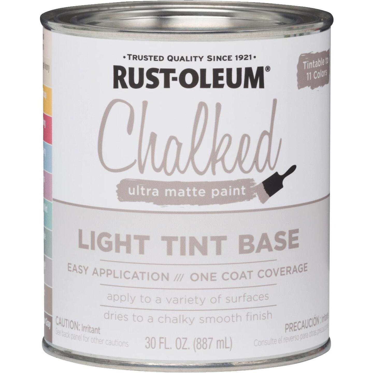Rust-Oleum Chalked Light Tint Ultra Matte 29 Oz. Chalk Paint Image 1