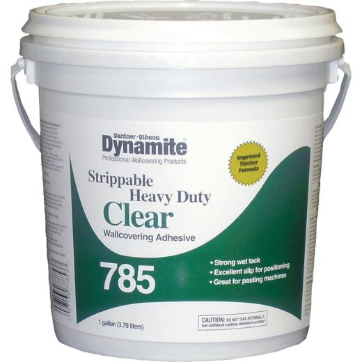Dynamite 785 1 Gal. Heavy-Duty Clear Strippable Wallcovering Adhesive