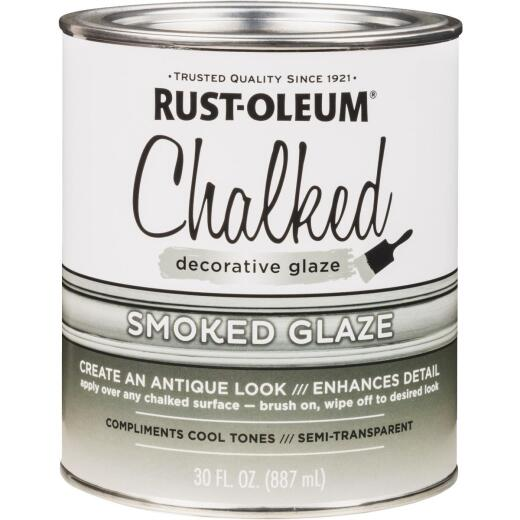 Rust-Oleum 30 Oz. Semi-Transparent Smoked Decorative Glaze