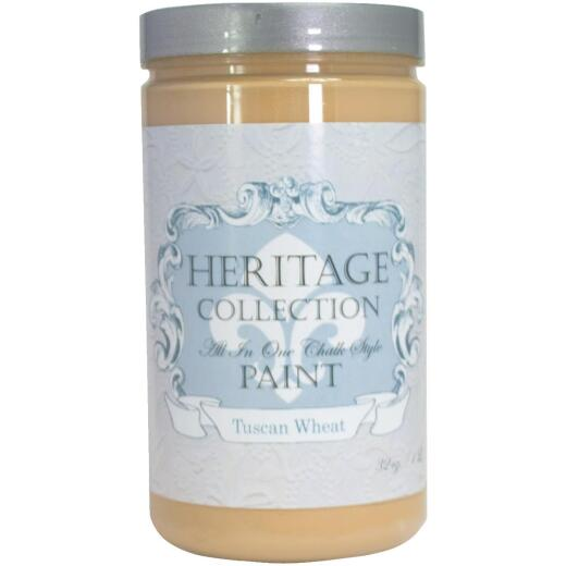 Heirloom Traditions Heritage Collection All-In-One Chalk Style Paint, Tuscan, 1 Qt.