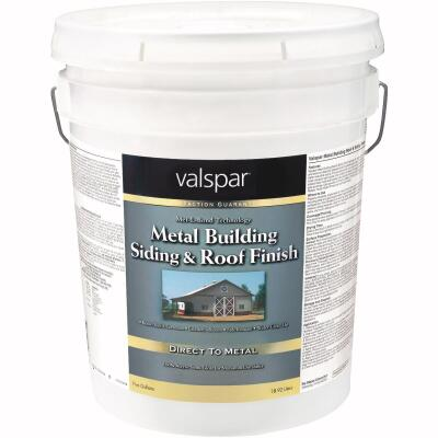 Valspar 5 Gal Classic Red Semi-Gloss Metal Building Paint