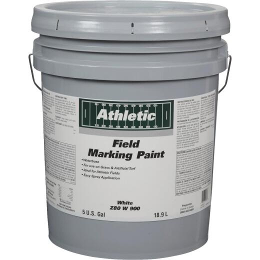 Field Marking Paint White 5 Gal Acrylic Flat Field Marking Paint