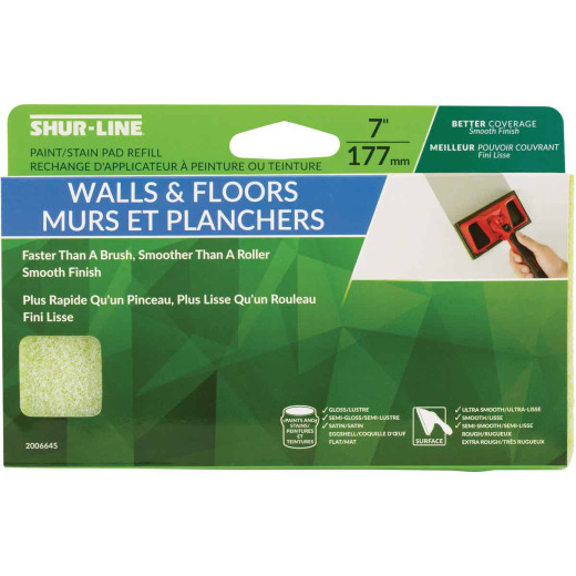 Shur-Line 7 In. Walls & Floors Paint Pad Refill
