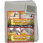 CoverGrip 3.5 Ft. x 12 Ft. 8 Oz. Non-Slip Safety Drop Cloth Image 1