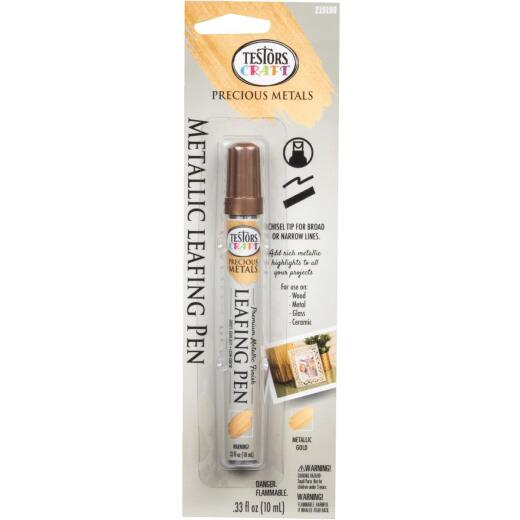 Testors Craft Metallic Gold Leafing Paint Pen