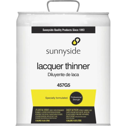 Sunnyside Lacquer Thinner, 5 Gallon