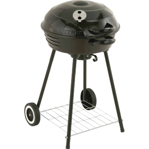 Kay Home Products 18 In. Dia. Black Charcoal Grill