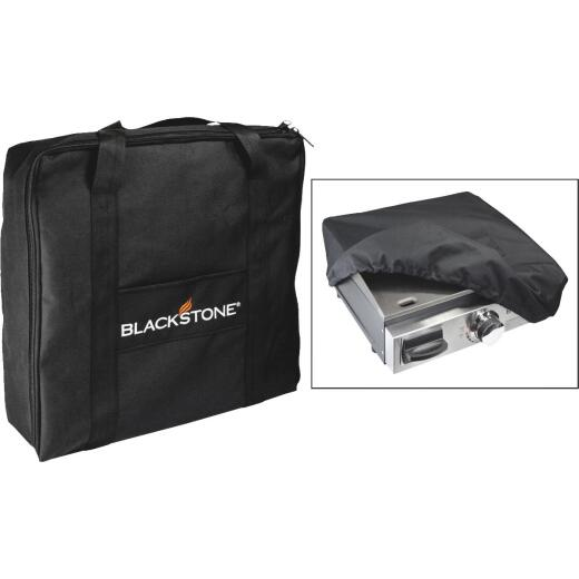 Blackstone 17 In. Black Gas Griddle Cover & Carry Bag Set