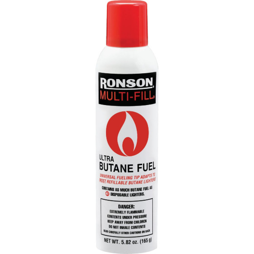 Ronson 5.82 Oz. Multi-Fill Butane Lighter Fuel